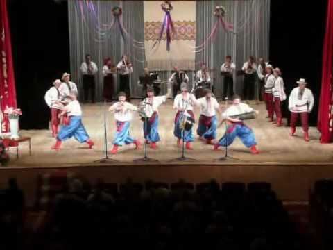 Vychylyas Ukrainian dance by the Nadzbruchanka dancers, Ternopil, Ukraine