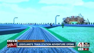 Legoland's train station adventure opens