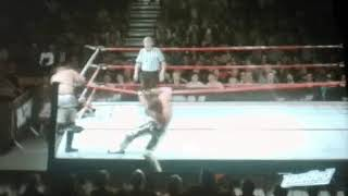 Pele Kick by Angelico on Drake the wrestler 31/8/17 wcpw loaded.