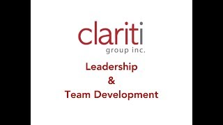 Clariti - Leadership & Team Development