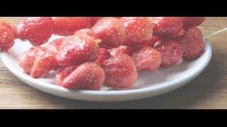 19 草莓糖葫芦的做法 怎么做
