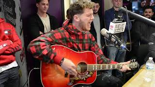"Bazzi Performs Acoustic Version of ""Mine"""