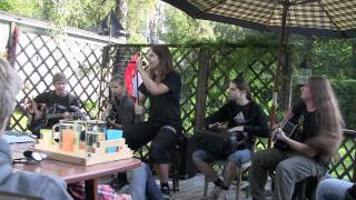 Northern Seer: Kill With Power (Manowar Cover) - Acoustic Live 21.08.2011