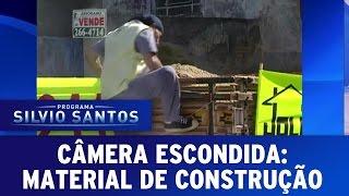 Câmeras Escondidas: Material de Construção