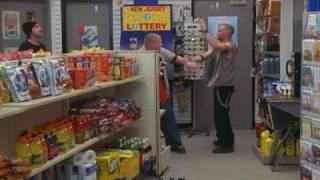 Harold and Kumar - The dinosaur in the shop