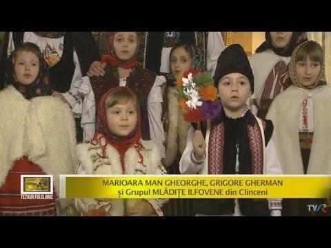 Marioara Man Gheorghe, Grigore Gherman şi Grupul Mlădiţe Ilfovene - Sorcova