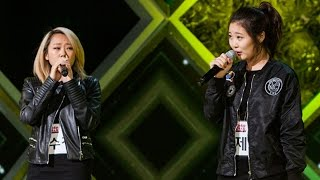 Lee Soo Jung & Yoo Jei - Part-Time Lover 《KPOP STAR 5》K팝스타5 EP11
