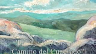 """Raúl Márquez Alonso: """"Paisaje serrano en el Camino del Cuadrado"""" [1966]"""