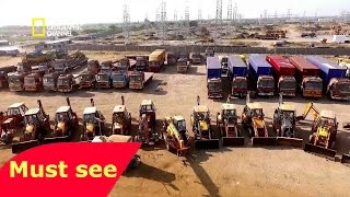 National Geographic Megastructures   India s Solar Power House   BBC Documentary History