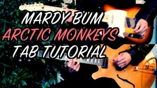 Mardy Bum - Arctic Monkeys ( Two Guitar Tab Tutorial & Cover )
