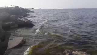 Caspian sea Rocks