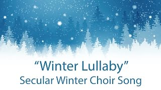 "Secular Winter Choir Song (solo version) - Pinkzebra ""Winter Lullaby"" feat. Sofia Canale"