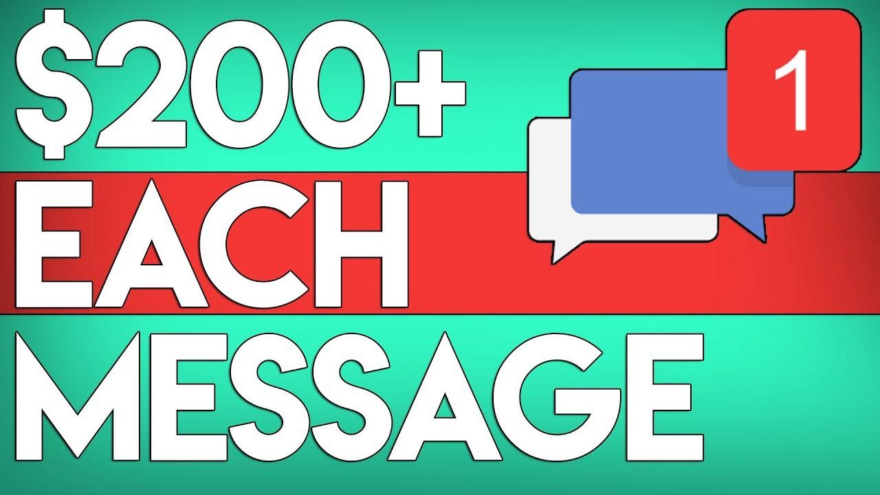 Earn 0.00+ PER Message You Send! FREE (Make Money Online 2020)