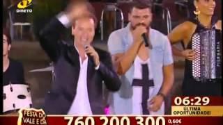 """EMANUEL """"Zumbawe"""" Em Ermesinde na EXPOVAL (Festa do Vale e da Serra)- Info: para Festas"""