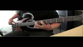 All Over You - Live - Bass Cover