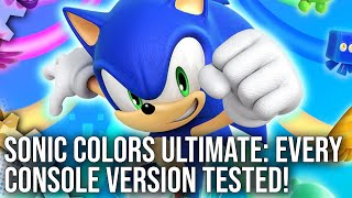 Digital Foundry tackle Sonic Colors Ultimate