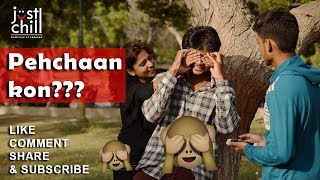 Cute Girl Asking Guess Who I Am :) Romantic Reactions Of Couple