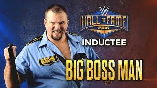 Presentación de Big Boss man al WWE Hall of Fame 2016