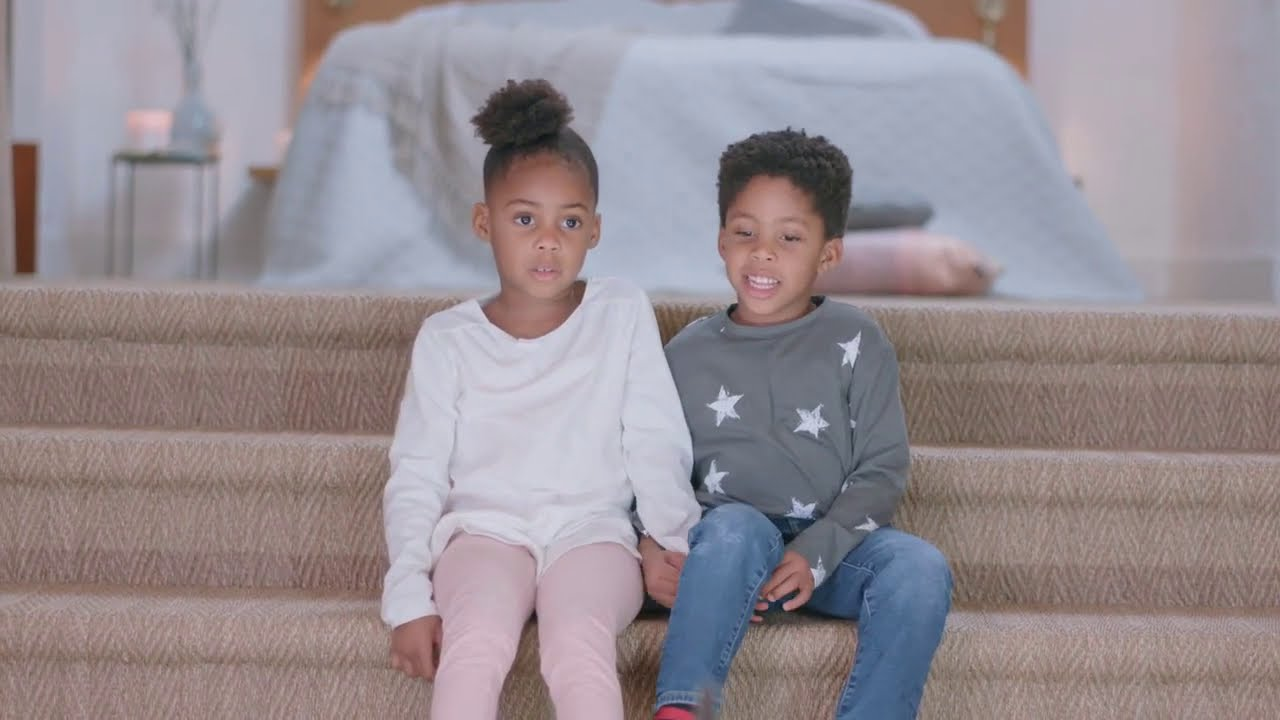 British child models for Rituals Mother's Day online commercial