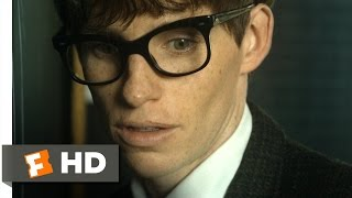 The Theory of Everything (1/10) Movie CLIP - The Black Hole Thesis (2014) HD