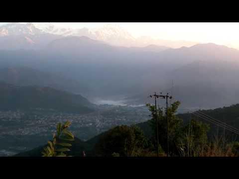57. Himalayan sunrise, Pokhara