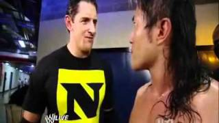 Wade Barrett Talks With Chris jericho and The Nexus attack Yoshi tatsu