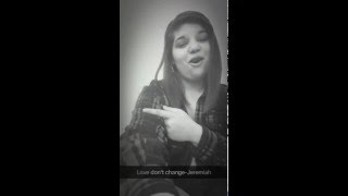 Jeremiah-love don't change(cover:Arieana Dolci)