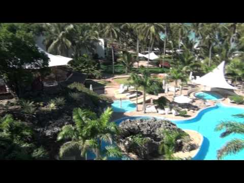 HD Paradise! Diani Reef Beach Resort and Spa – our room June 2011