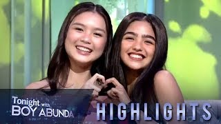 TWBA: Francine Diaz and Andrea Brillantes both like K-Pop group, BTS