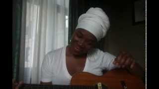 India.Arie's FIRST YouTube video!!! SINGS Blackbird!