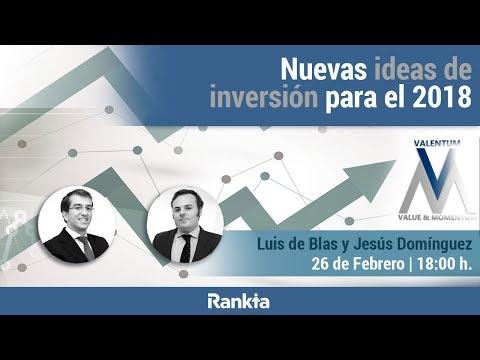 Nuevas ideas de inversión para el 2018
