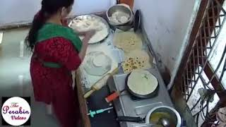 Maid Stealing Chapati And Pissing In Owner's Juice