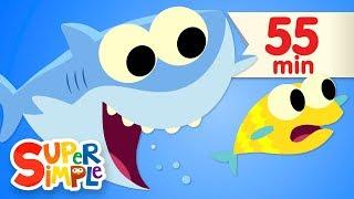 Baby Shark | + More Kids Songs | Super Simple Songs width=