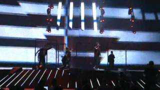 """Eurovision Song Contest 2011 second rehearsal Sweden. """"Popular"""" - Eric Saade"""