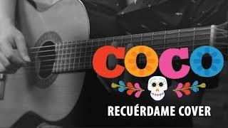 Coco - RECUÉRDAME COVER Instrumental | Guitarra y Bajo
