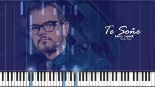 Te Soñe - Aleks Syntek (Piano tutorial)