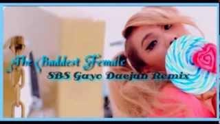 CL - 나쁜 기집애 THE BADDEST FEMALE SBS 2013(가요대전)GAYO DAEJUN REMIX