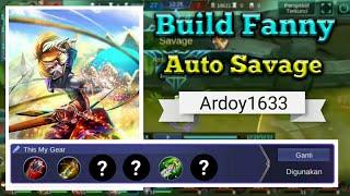 Build/Gear Fanny ~ Auto Savage Terbaru 2018