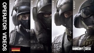 Rainbow Six Siege - All 'GSG9' Operator Videos - I.Q., Blitz, Bandit & Jager!
