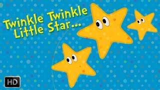 Twinkle Twinkle Little Star - Nursery Rhymes - Baby Songs - Lullaby Version