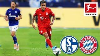 Coutinho's First Match for Bayern - FC Schalke 04 vs. FC Bayern München I 0-3 I Highlights