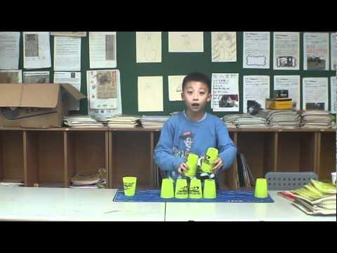 疊杯教學第三階段 - YouTube
