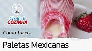 ?PALETA MEXICANA RÁPIDO E FÁCIL