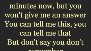 Stuttering (Instrumental) - Fefe Dobson