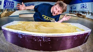 WORLD'S FIRST 100% WAX LEDGE | SKATE EVERYTHING EP. 291