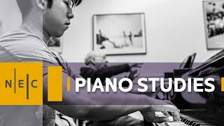 Piano Studies at New England Conservatory