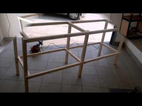 Banco Di Lavoro Fai Da Te : Banco da lavoro fai da te in legno come costruirlo senza incastri