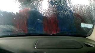 Ensorados en el car wash