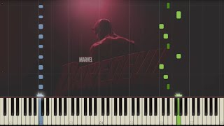 Daredevil - Main Theme - Piano (Synthesia)