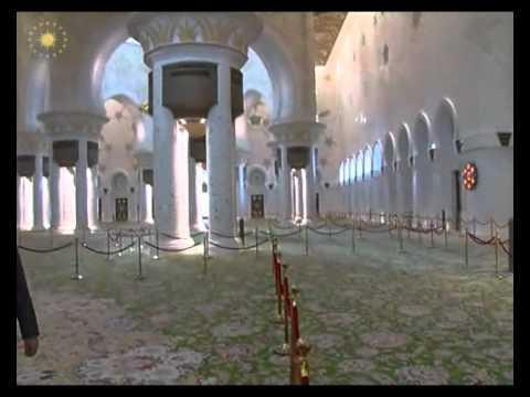 Cumhurbaskani Gül, Seyh Zayed Camii'ni Ziyaret Etti